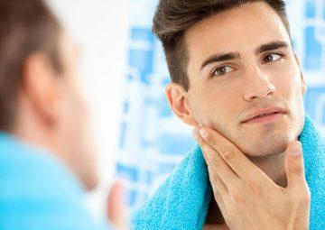 روش های درمان جوش صورت در مردان