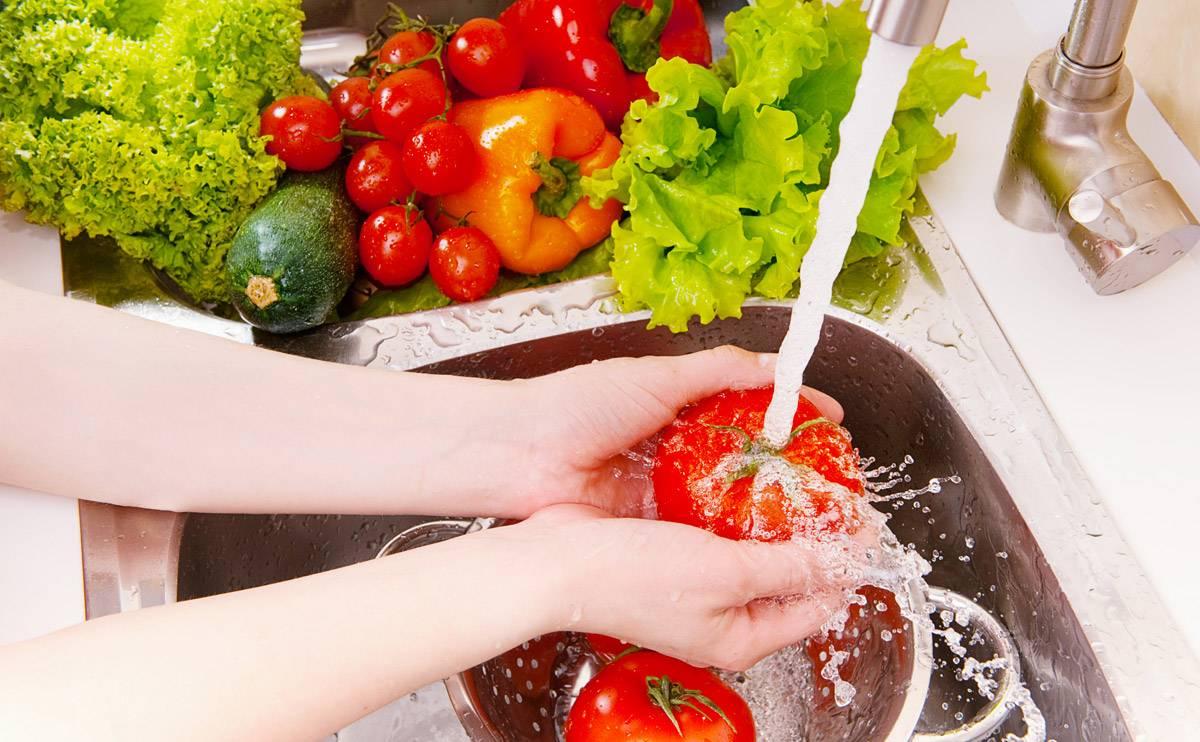بهترین روش شستشو و خشک کردن سبزی ها