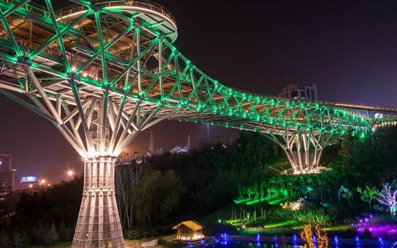 پل طبیعت، پلی مدرن و زیبا در پایتخت