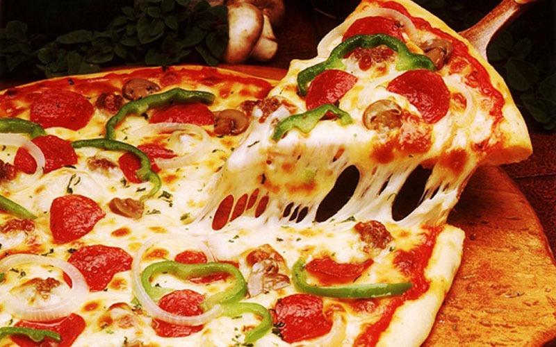 طرز تهیه پیتزای مخلوط