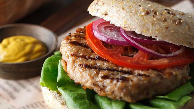 همبرگر ساده