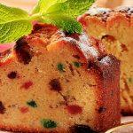 طرز تهیه کیک میوه و رزماری