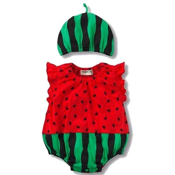 لباس نوزادی طرح هنداونه