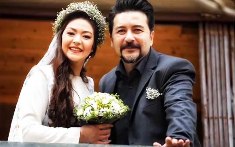 امیرحسین صدیق آقای پدر زی زی گولو ازدواج کرد
