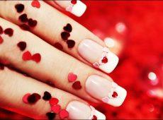 طراحی ناخن ویژه ولنتاین