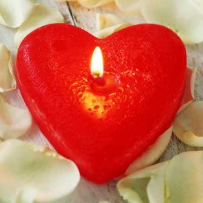 گیفت شمع ولنتاین