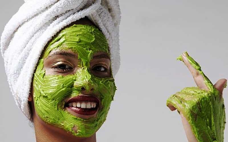 ماسک صورت اسفناج برای درخشندگی پوست