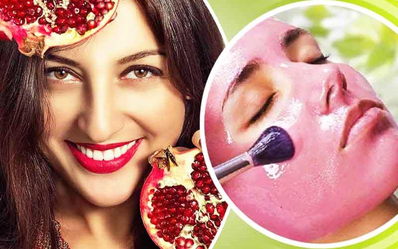 ماسک صورت انار برای شادابی و جوانسازی پوست