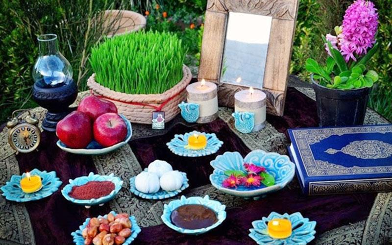 عکس عید نوروز سفره هفت سین