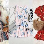 لباس زنانه گلدار بهاری