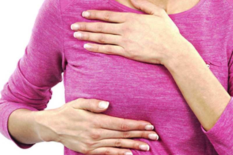 خودآزمایی سرطان سینه