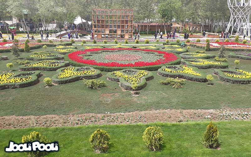 عکسهای جشنواره لاله های شهر کرج سال ۹۸