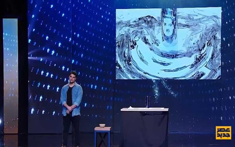 رضا ازوجی اجرای سوم قسمت چهارم مرحله دوم مسابقه عصرجدید