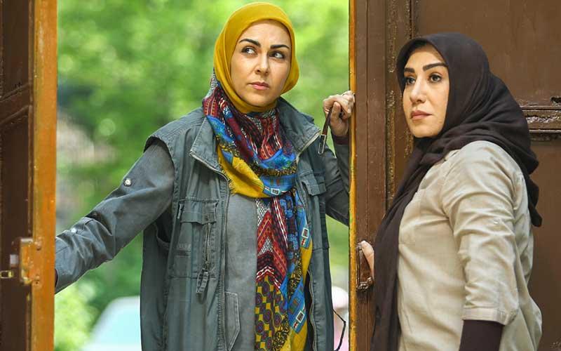 شیوا ابراهیمی بازیگر نقش منیژه در سریال برادرجان