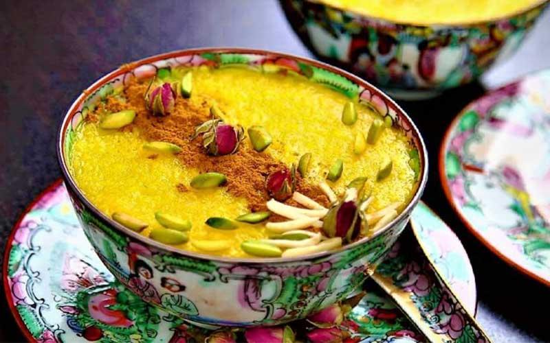 طرز تهیه شله زرد (دسر ویژه افطار ماه رمضان)