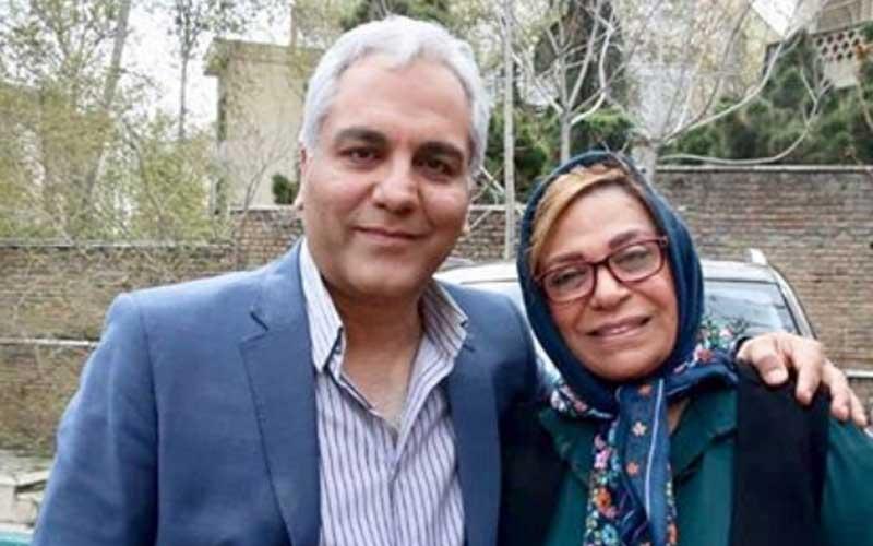 عکس گوهر خیراندیش در کنار مهران مدیری کارگردان هیولا
