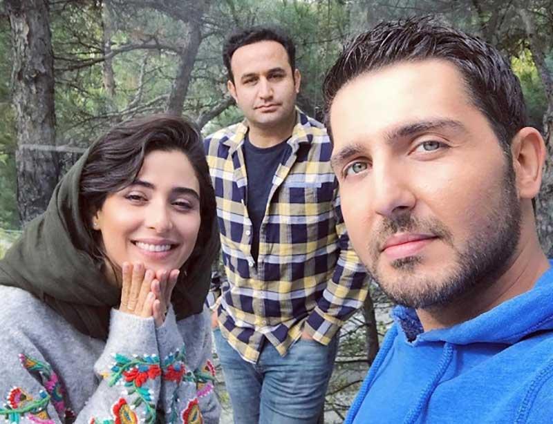 محمدرضا غفاری بازیگر نقش آرش در سریال دل دار