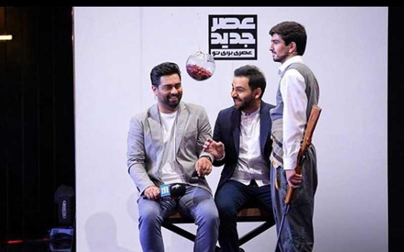 محمدمهدی حیدریان چهارمین اجرای قسمت دوم مرحله دوم مسابقه عصرجدید