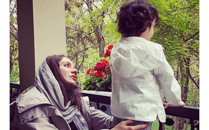 مهناز افشار تولد دخترش لیانا را تبریک گفت