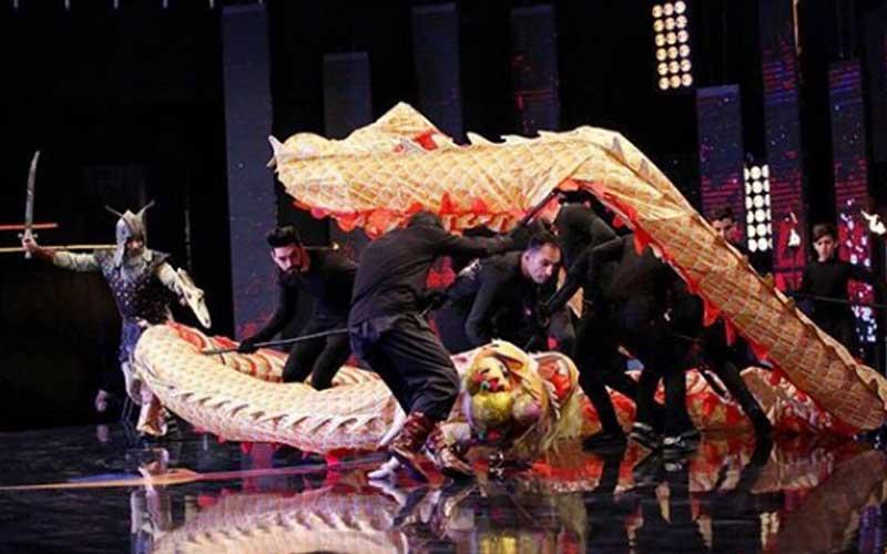 اژدهای سرخ اجرای اول قسمت دوم مرحله دوم مسابقه عصرجدید