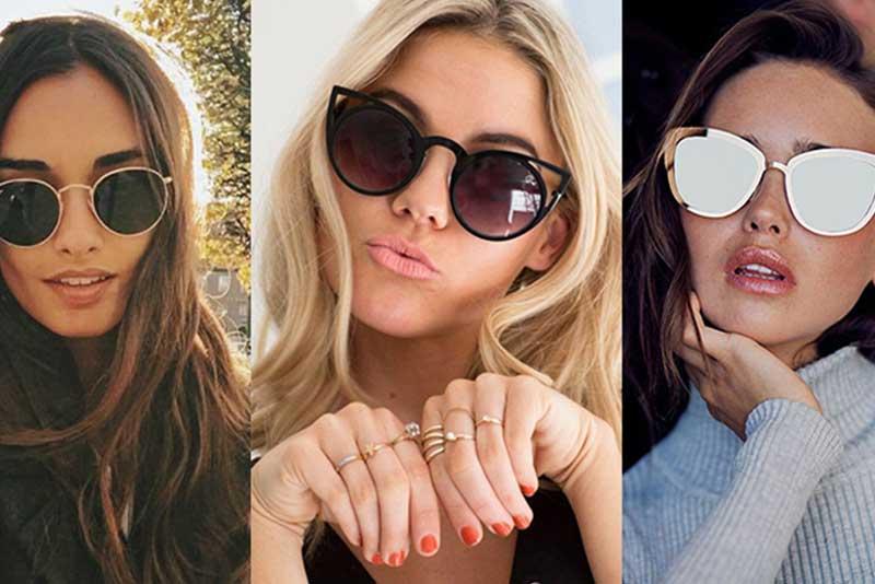 مدلهای جدید عینک آفتابی دخترانه و زنانه