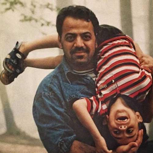 جواد افشار و پسرش