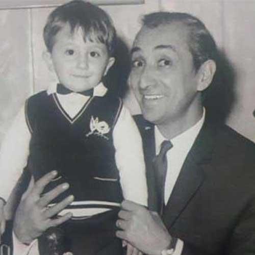 داریوش اسدزاده و پسرش
