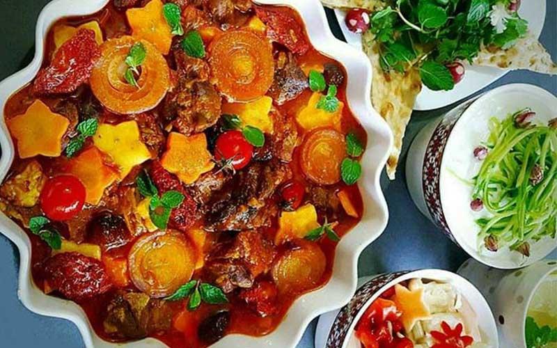 طرز تهیه تاس کباب خانگی با گوشت