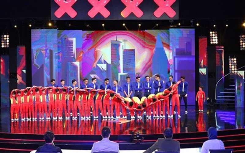اجرای گروه پیرامید در نیمه نهایی مسابقه عصرجدید