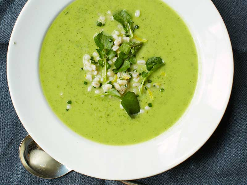 سوپ-کدو-سبز-و-اسفناج