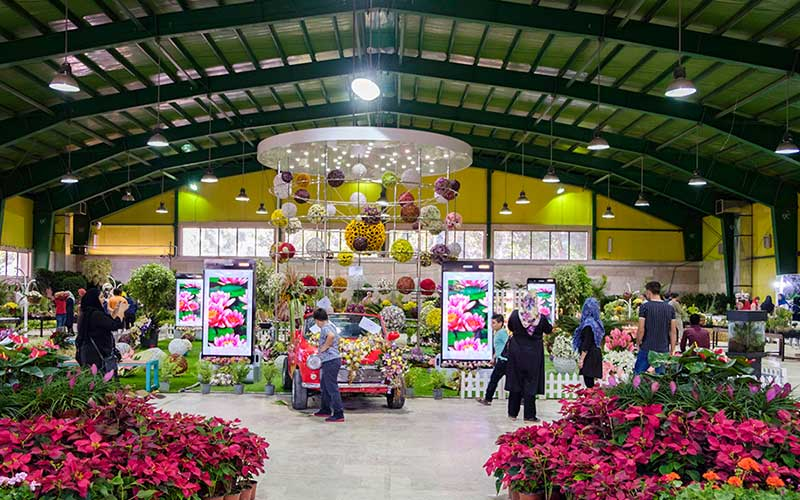 برگزاری نمایشگاه گل و گیاه کرج سال ۱۳۹۸