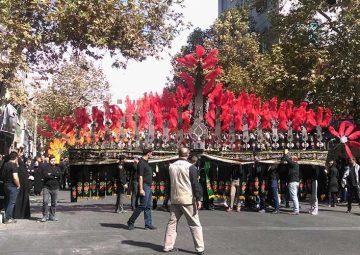 مراسم عزاداری ایام محرم در  ۵ شهر مختلف ایران