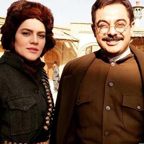 شایسته ایرانی در سریال ایراندخت