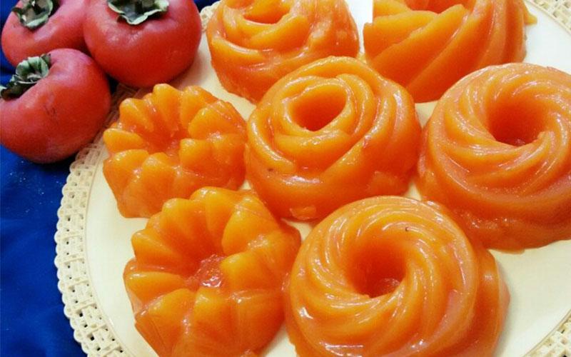 طرز تهیه دسر خرمالو (ویژه پاییز)
