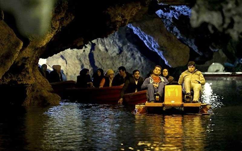 سفری اسرارآمیز به غار علیصدر همدان