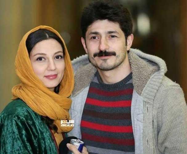 حدیث میرامینی و همسرش مجتبی رجبی