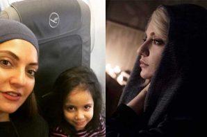 سفر مهناز افشار و دخترش به اسلو برای اکران فیلم آشفته گی