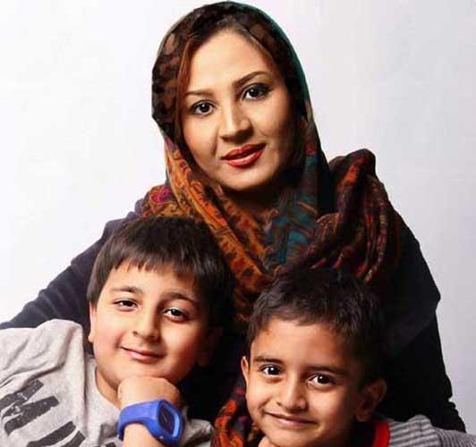 محمدرضا شیرخانلو و مادرش