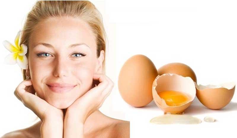 سفیده تخم مرغ منافذ باز پوست را می بندد