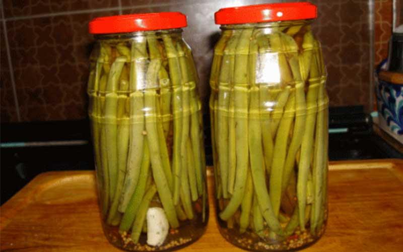 طرز تهیه ترشی لوبیا سبز خانگی