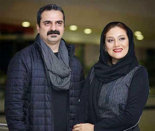 علیرضا آرا و همسرش شبنم مقدمی