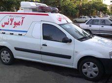 مرگ یک بیمار بر اثر پنچر شدن آمبولانس توسط  همسایه!