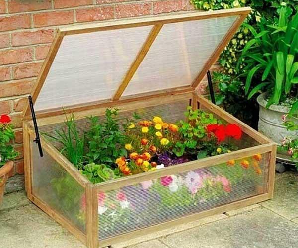 ساخت گلخانه کوچک