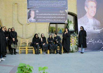عکسهای مراسم تشییع پیکر مرحوم مجید اوجی