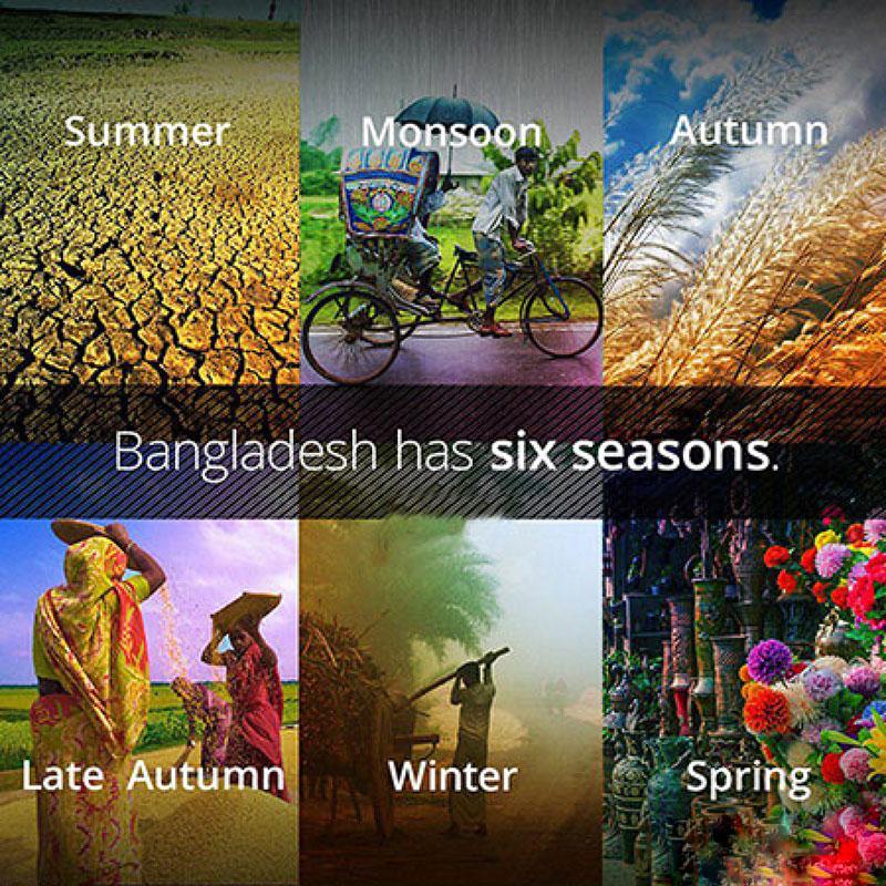 6 فصل بنگلادش