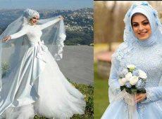 جدیدترین مدلهای لباس عروس پوشیده
