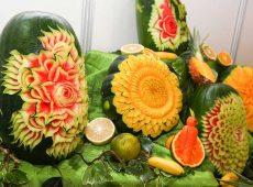 میوه آرایی (تزیین میوه) ویژه شب یلدا