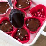 طرز تهیه شکلات اناری