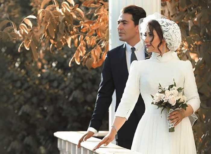 عکس عروسی الهام طهموری