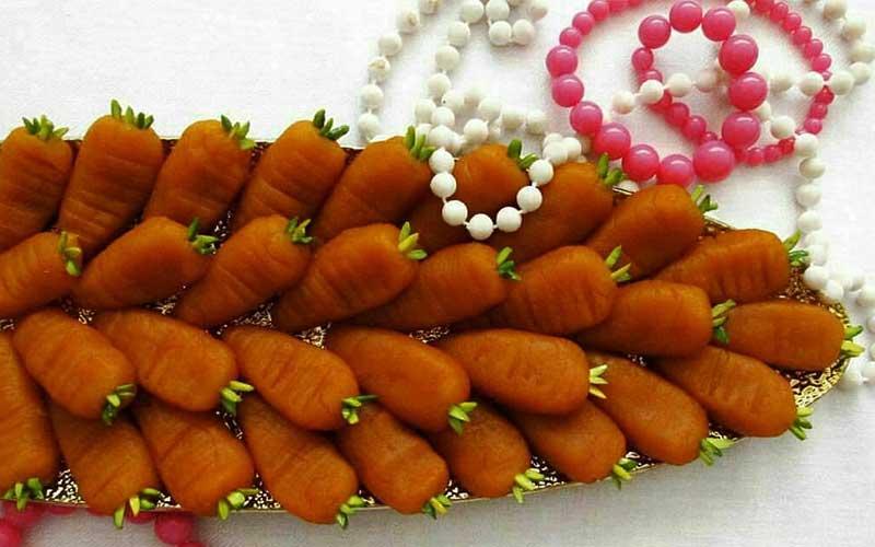 حلوای هویج ارومیه